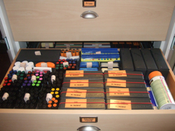 Drawer 2 - Marker, Tools, Pins, etc.
